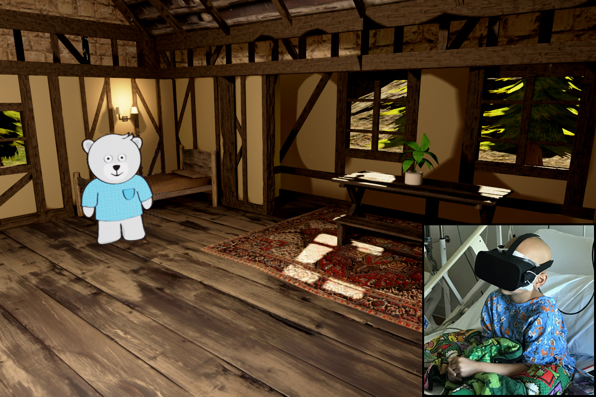 VR Kids Experience - Teddy's House